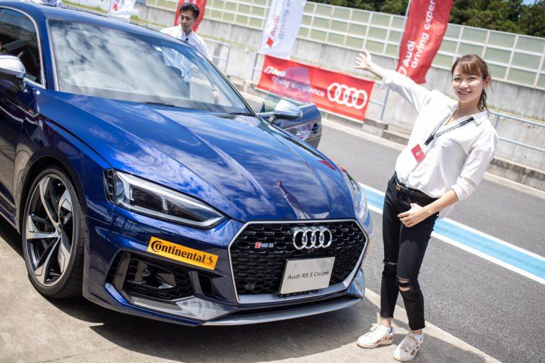 国内レース他   受講者の笑顔が溢れる日本初の女性向け「Audi women's driving experience」。森園れんの運転技術向上は?