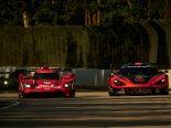 ウェレン・エンジニアリング・レーシングの31号車キャデラックDPi-V.Rとコンパス・レーシングの76号車マクラーレン720S GT3