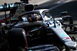 2019年F1第14戦イタリアGP ルイス・ハミルトン(メルセデス)