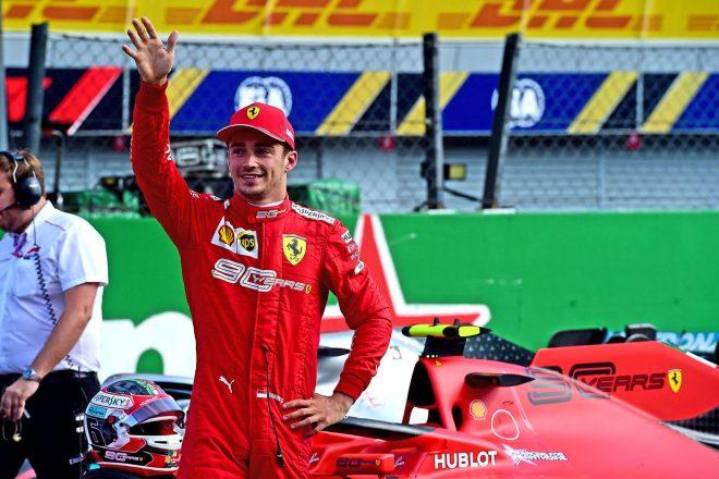 2019年F1第14戦イタリアGP シャルル・ルクレール(フェラーリ)