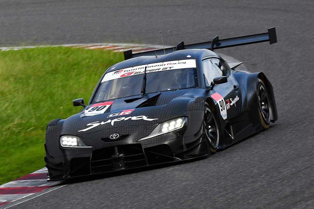 スーパーGT:GT500の2020年モデル2台のシェイクダウンテストは初日を終える