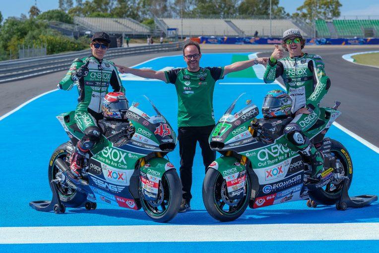 MotoGP   長島哲太、Moto2クラスに継続参戦。SAGが2020年のチーム体制を正式に発表