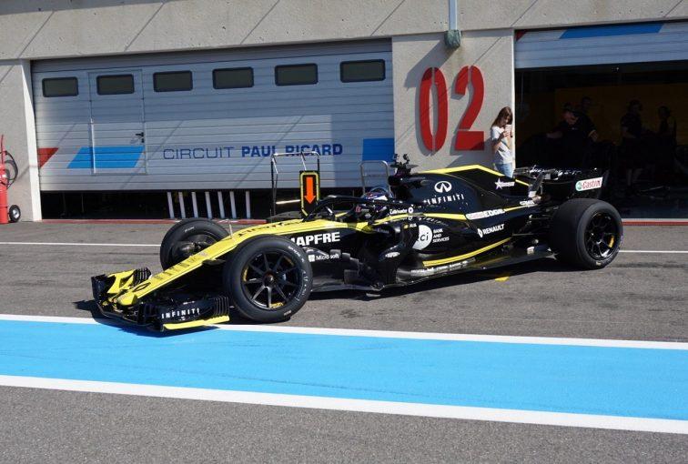 F1 | 18インチF1タイヤのテストがスタート。2021年導入に向け、ルノーのミュールカーでデータ収集