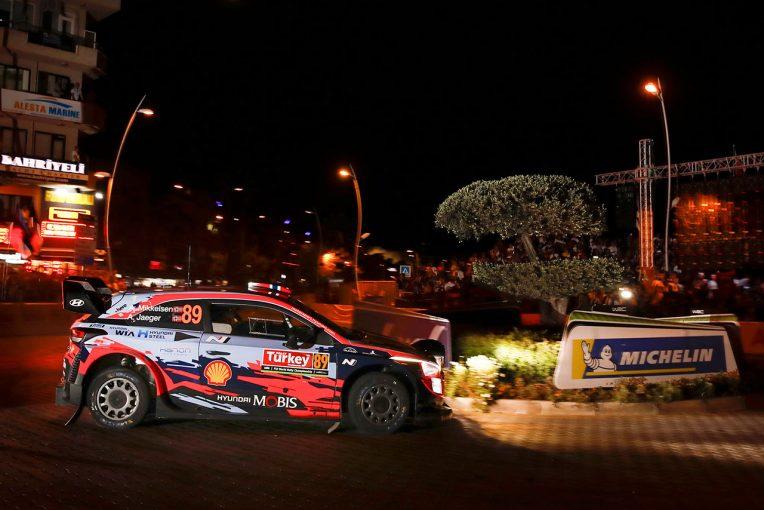 ラリー/WRC | WRCトルコ:SS1は2台のヒュンダイが同タイムでトップ。トヨタのタナクは4.2秒遅れ