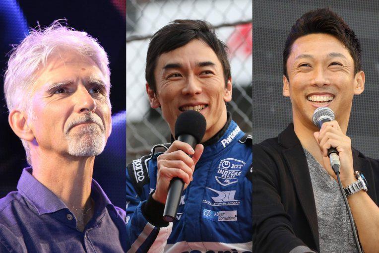 F1 | F1日本GPにデイモン・ヒル、佐藤琢磨、中嶋一貴の来場が決定。トークショー出演、場内実況での解説も