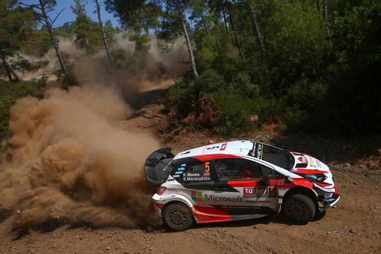 ラリー/WRC | WRC:トヨタ、第11戦トルコはミークの総合5位が最上位と3台揃って堅実な立ち上がり