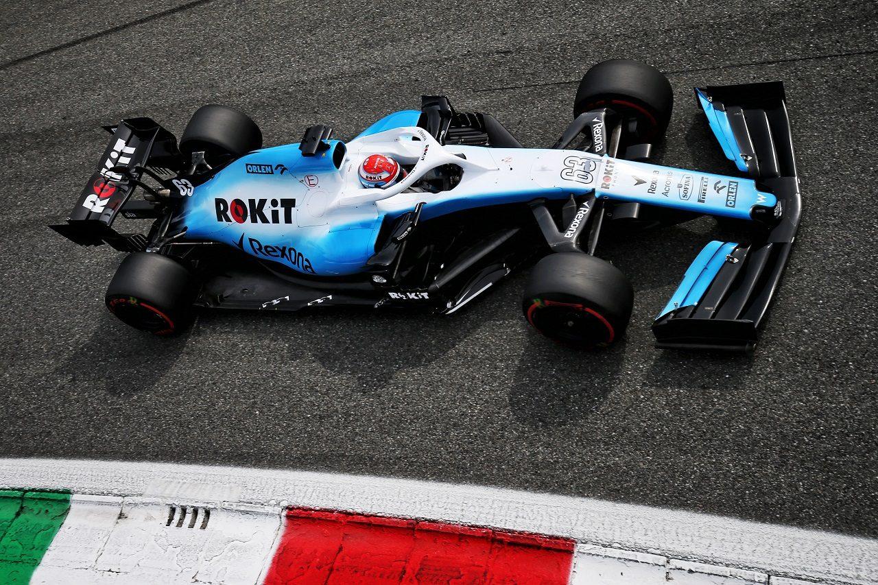 2019年F1第14戦イタリアGP ジョージ・ラッセル(ウイリアムズ)