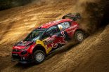 ラリー/WRC | WRCトルコ:競技2日目、シトロエンがトップ2独占。トヨタ勢は7〜9番手