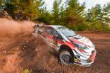 ラリー/WRC | WRC:トヨタ、トルコ2日目はベストタイム刻むも総合順位で苦戦。マキネン「簡単な1日ではなかった」