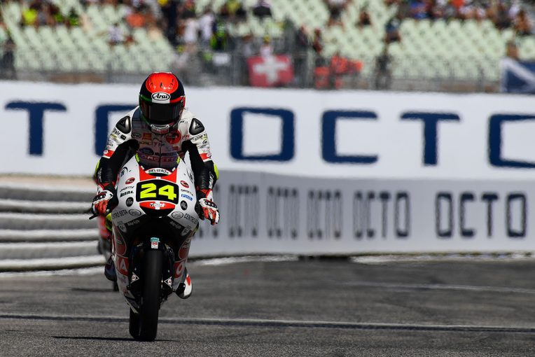 MotoGP   MotoGPサンマリノGP:Moto3で初ポール獲得の鈴木竜生、厳しい路面状況のなか「Q1ではリスクを負った」