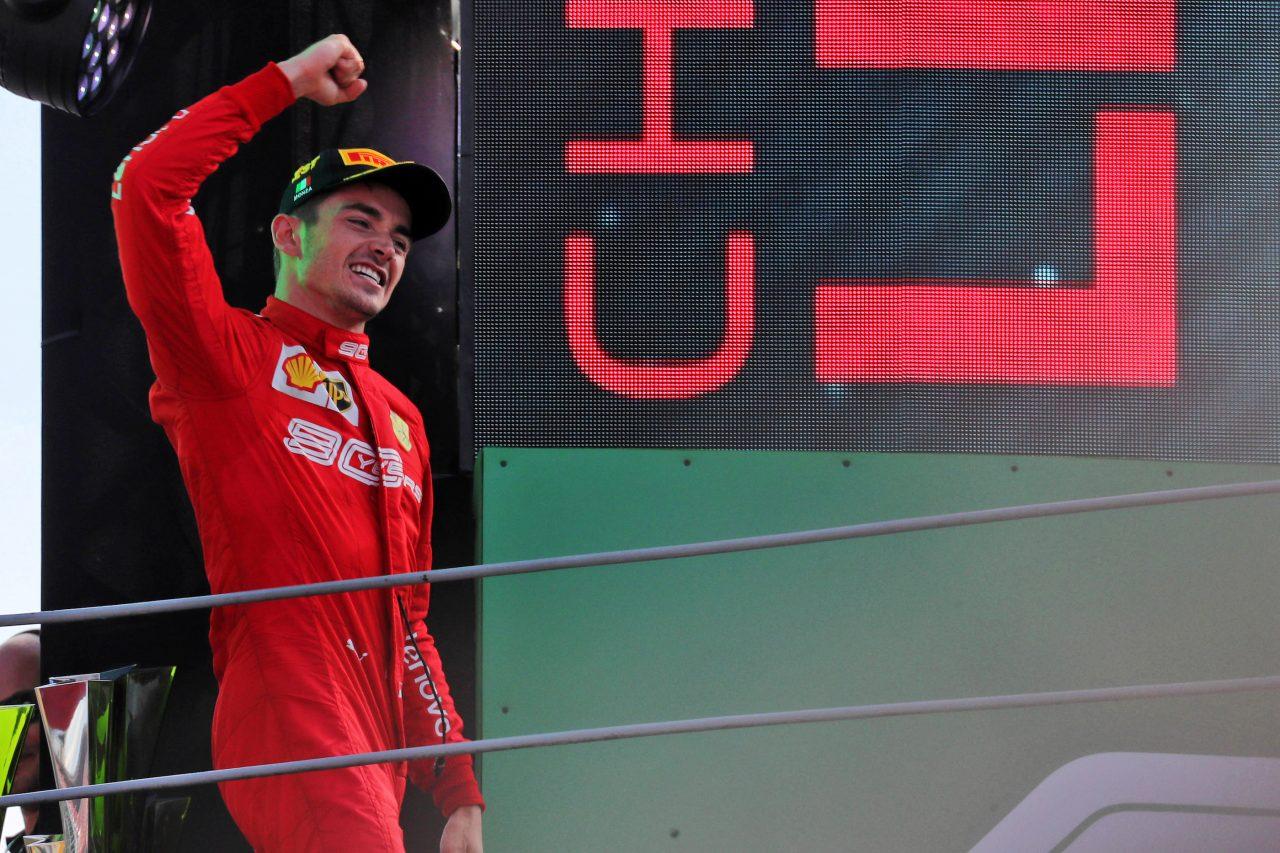 2019年F1イタリアGPでのルクレール