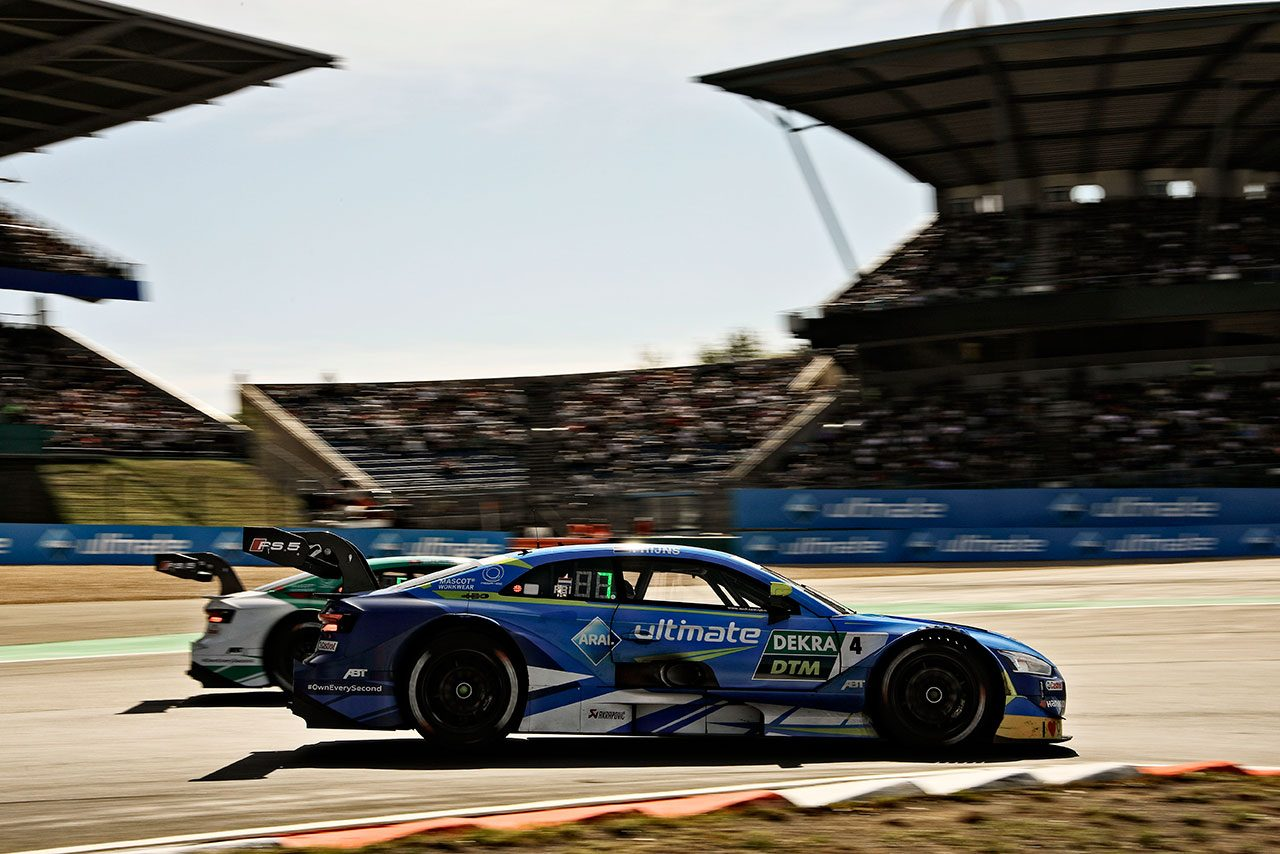 DTM第8戦ニュルブルクリンク:レース2はグリーンが勝利し、ラストが2度目のチャンピオン獲得