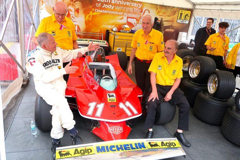 F1 | 【あなたは何しに?】元F1王者ジョディ・シェクターがモンツァでデモラン。当時の担当メカニックが集まる奇跡