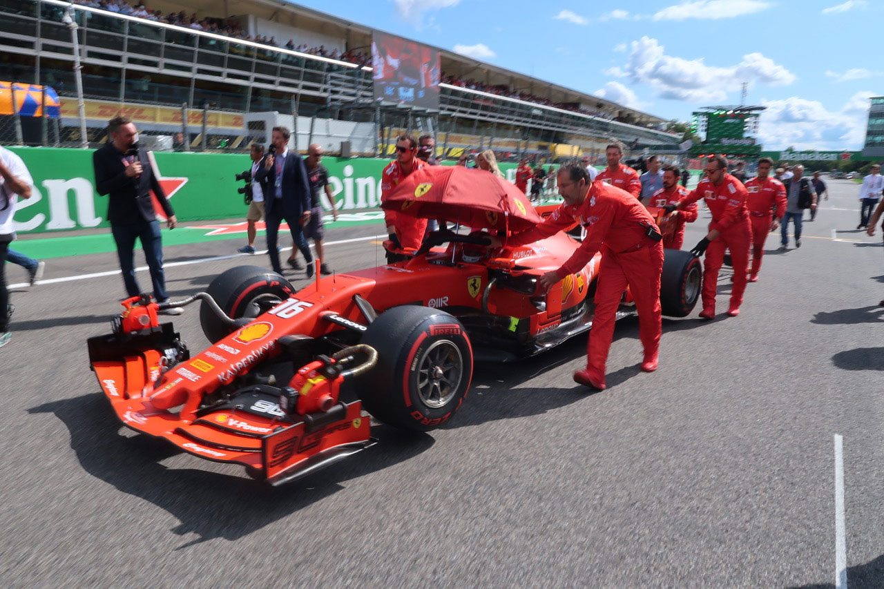 F1第14戦イタリアGP現地情報その2