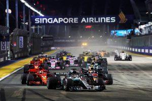 F1 | 2019年F1第15戦シンガポールGP、TV放送&タイムスケジュール