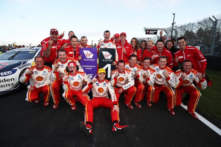 海外レース他   オーストラリアSC第11戦:王者が17勝目。レース1覇者は「ダウンフォースを削減しなければシリーズは滅ぶ」と苦言