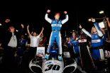 インディカー・シリーズ第15戦で優勝した佐藤琢磨