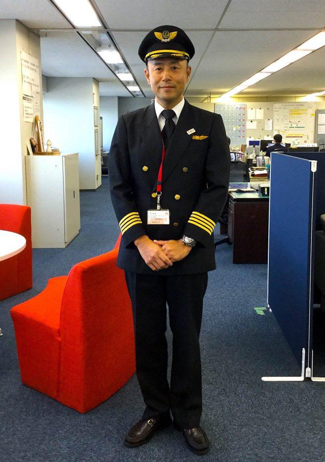 JALの機長、山田太理さん