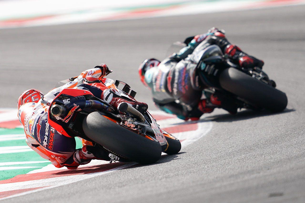 MotoGP:「僕は憤りを秘めていた」とマルケス。ロッシと交錯後に行ったジェスチャーの意味