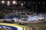 F1 | データで見るF1シンガポールGP:ギヤチェンジは1周62回、体重が3kg減る過酷なレース