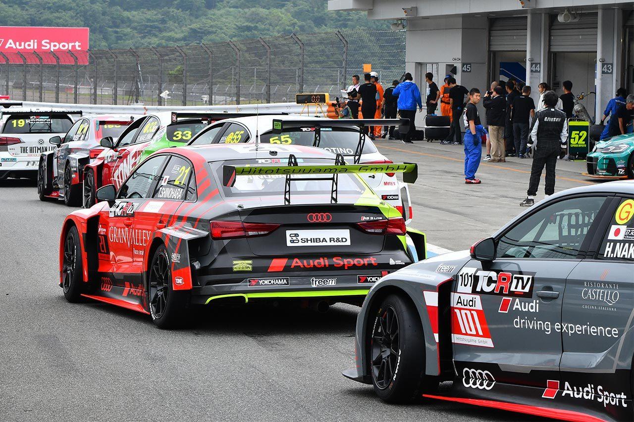 Audi Team HitotsuyamaがWTCR鈴鹿ラウンドにワイルドカード参戦! 富田と宮田を起用