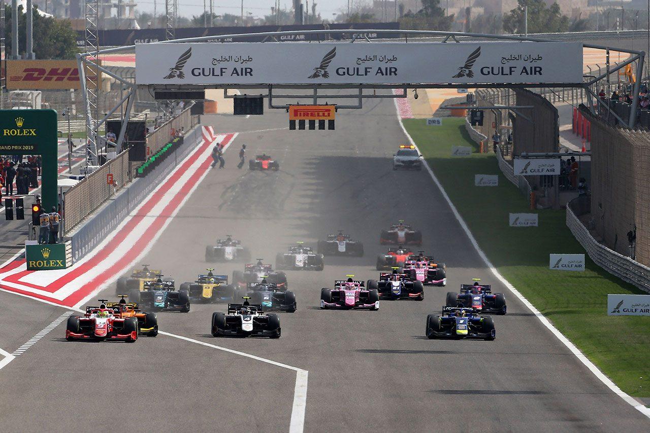 2019年FIA-F2開幕戦サクヒール