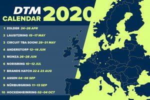 海外レース他 | 2020年のDTMレース開催地一覧