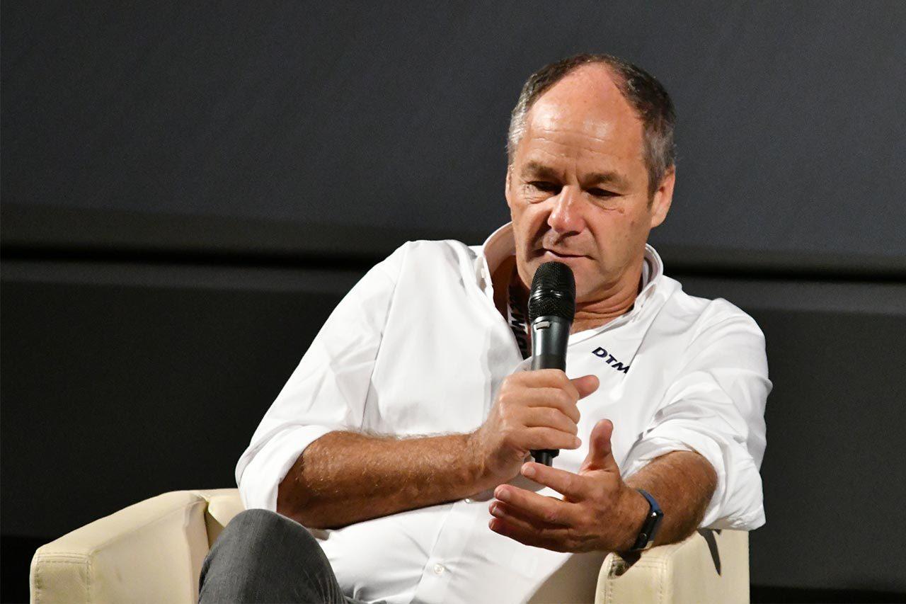 DTMの未来へ意見交換。ゲルハルト・ベルガーがニュルでファンとの交流イベントを開催