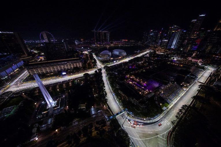F1 | F1シンガポールGP、2019年はDRSゾーンが追加され3カ所に。追い抜きチャンス増に期待