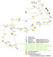 F1 | 2019年F1シンガポールGP マリーナベイ・ストリート・サーキットのコース図