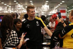 F1 | 選択肢狭まるヒュルケンベルグ「F1に残留できるという確信は持てない」。レッドブル加入の可能性にも言及