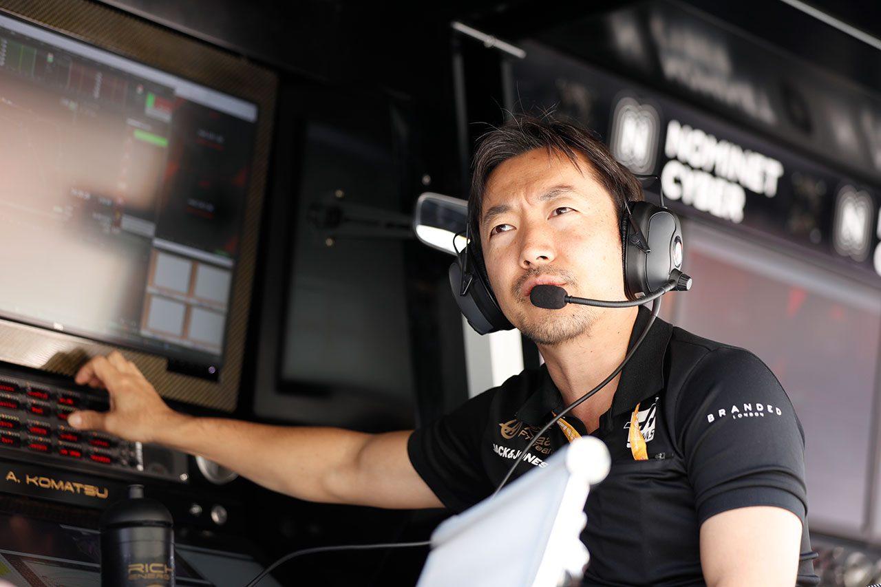 2019年F1第14戦イタリアGP 小松礼雄チーフレースエンジニア(ハースF1チーム)