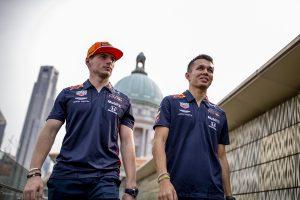 F1 | マックス・フェルスタッペン、アレクサンダー・アルボン
