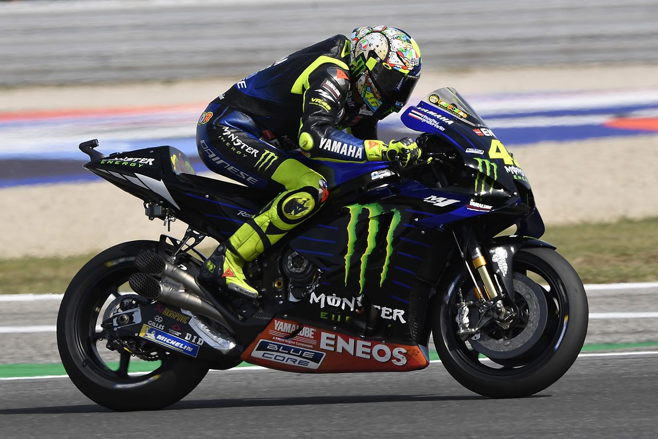 前戦で表彰台に一歩届かなかったロッシ「サンマリノGPで何が必要かが分かった」/MotoGP第14戦事前コメント