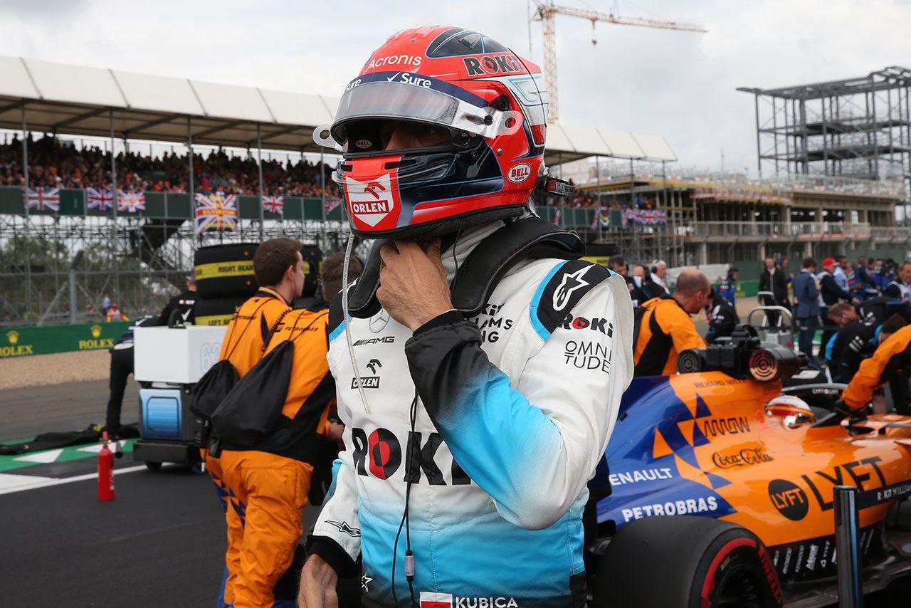 2019年F1第10戦イギリスGP ロバート・クビサ(ウイリアムズ)