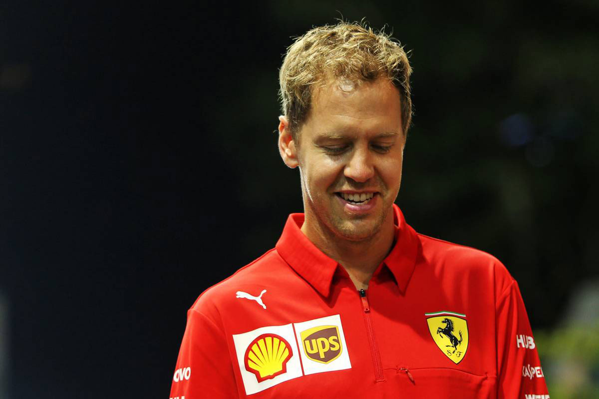 2019年F1第15戦シンガポールGP セバスチャン・ベッテル(フェラーリ)
