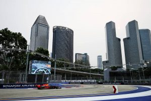F1 | 【タイム結果】F1第15戦シンガポールGP フリー走行1回目