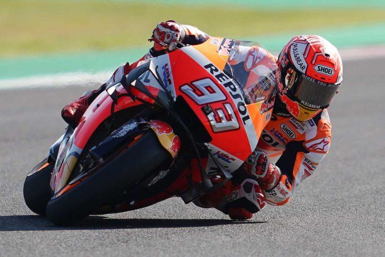 MotoGP | MotoGPアラゴンGP:マルケスが2番手ビニャーレスに1秒以上の差をつけ初日総合トップ。中上は13番手