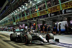 F1 | F1シンガポールGP FP2:トップはハミルトン、僅差でフェルスタッペンが追随。フェラーリ勢はペースが伸びず