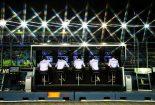 2019年F1第15戦シンガポールGP メルセデスのピットガントリー