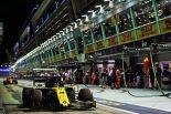 2019年F1第15戦シンガポールGP ダニエル・リカルド(ルノー)