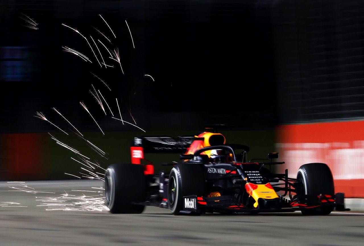 2019年F1第15戦シンガポールGP金曜 マックス・フェルスタッペン(レッドブルRB15・ホンダ)