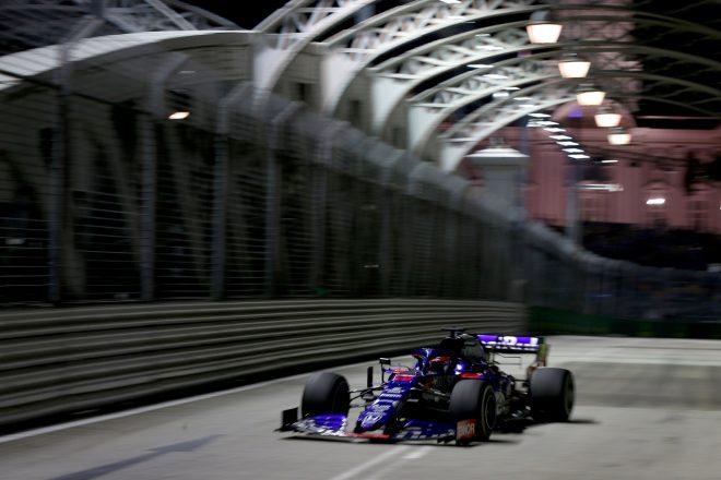 2019年F1第15戦シンガポールGP金曜 ダニール・クビアト(トロロッソSTR14・ホンダ)
