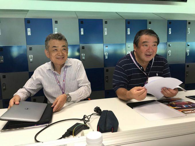 Blog | 【ブログ】メディアセンターに来ていた大御所ふたりとセッションを観る贅沢体験/F1シンガポールGP現地情報