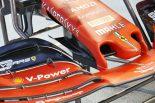 2019年F1第15戦シンガポールGP金曜 フェラーリ、SF90のアップデート版ノーズをテスト