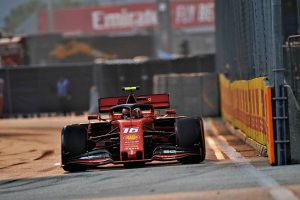 F1 | ルクレールがトップタイム。レッドブル・ホンダは5、6番手【タイム結果】F1第15戦シンガポールGPフリー走行3回目