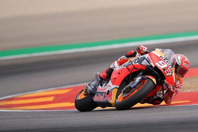 MotoGP   MotoGPアラゴンGP:マルケスが貫禄のポール獲得。中上はQ1突破ならず、14番手
