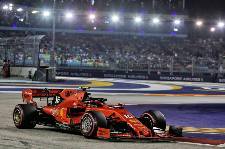 F1 | ルクレールが3戦連続ポールポジション【順位結果】F1第15戦シンガポールGP予選