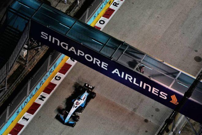 2019年F1第15戦シンガポールGP ジョージ・ラッセル(ウイリアムズ)