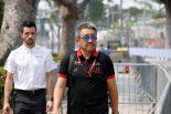 2019年F1第15戦シンガポールGP ホンダ山本雅史F1マネージングディレクター